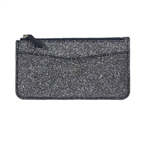 Kate Spade Lola Glitter Large Card Holder Slim Wallet