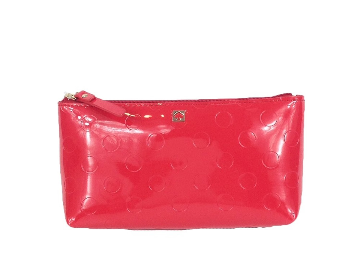 reputable site 97558 1c943 Kate Spade New York Camellia Street Little Shiloh Cosmetic Bag, Chili Red