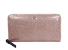 Kate Spade Mavis Street Neda Continental Zip Wallet, Sparkle Rose Gold