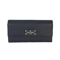 Kate Spade Bay Street Sandra Leather Clutch Wallet