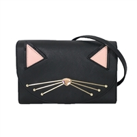 Kate Spade Jazz Things Up Cat Winni Clutch Crossbody,