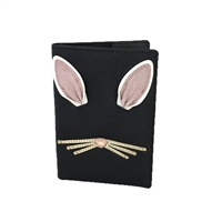 Kate Spade Hop To It Rabbit Leather Passport Holder