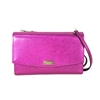 Kate Spade Laurel Way Winni Metallic Leather Clutch Crossbody Bag