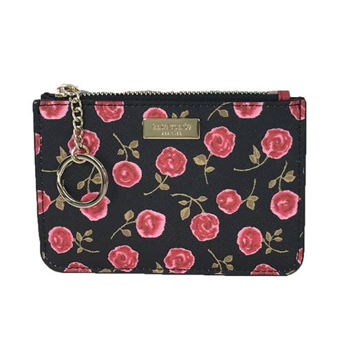 Kate Spade Hazy Rose Floral Bitsy ID Card Case