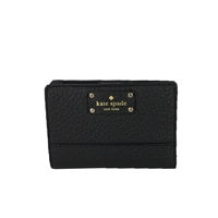 Kate Spade Bay Street Tellie Small Leather Bifold Wallet