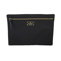 Kate Spade Large Drewe Nylon Travel Cosmetic Case Tech Pouch