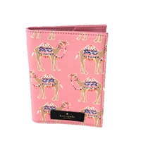 Kate Spade Camel Party Daycation Passport Holder