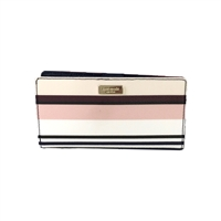 Kate Spade Berber Stripe Stacy Bifold Wallet