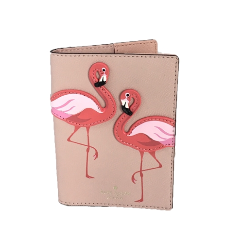 Kate Spade Flamingo Passport Holder