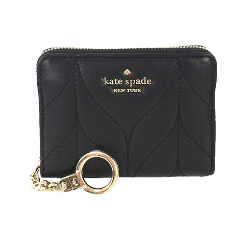 Kate Spade Briar Lane Dani Quilted Leather Small Zip Wallet,