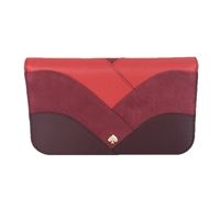 Kate Spade Nadine Patchwork Leather Clutch Wallet