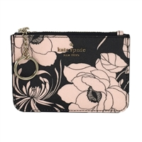 Kate Spade Gardenia Floral Bitsy ID Card Case