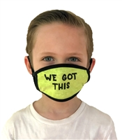 We Got This Kids Cotton Double Layer Face Mask