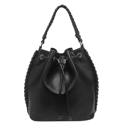 Melie Bianco Coleen Vegan Leather Whipstitch Convertible Backpack