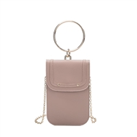 Melie Bianco Tess Vegan Leather Phone Crossbody Bracelet Bag