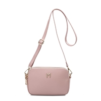 aec8d5e0fda3 Melie Bianco Emilia Vegan Multi Way Sling Crossbody Belt Bag, Blush