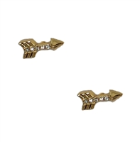 Juicy Couture Pave Arrow Stud Earrings