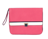 Juicy Couture Luxe Saffiano Leather Clutch
