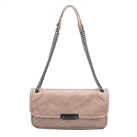 Melie Bianco Andie Quilted Vegan Leather Shoulder Crossbody Bag