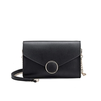Melie Bianco Elsa Vegan Leather Clutch Crossbody