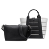 Melie Bianco Camille Vegan Leather Tote & Crossbody Set