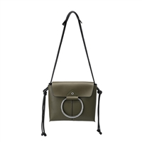 Melie Bianco Dillen Vegan Leather Ring Crossbody