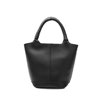 Melie Bianco Colette Vegan Leather Bucket Crossbody Bag