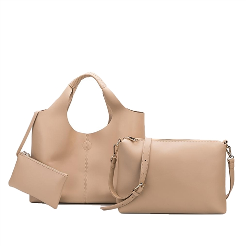 Melie Bianco Diana Vegan Convertible Tote & Crossbody Set