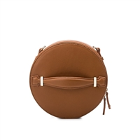 Melie Bianco Julia Vegan Leather Circle Crossbody
