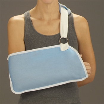 DeRoyal Light Blue Arm Sling