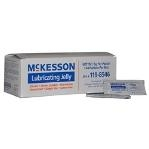 McKesson Lubricating Jelly 5 Gram Foil Pack Sterile
