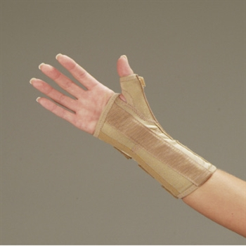 DeRoyal Functional Wrist Splint with Abducted Thumb