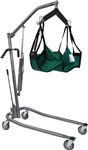 Drive Medical Low Hydraulic Deluxe Silver Vein Patient Lift Kit