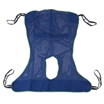 Drive Medical Full Body with Commode Opening Patient Lift Sling 13221L