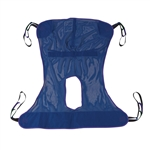 Drive Medical Full Body with Commode Opening Patient Lift Sling 13221M