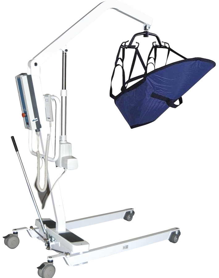 Drive Medical Battery Powered Patient Lift, 13242, Battery Powered ...