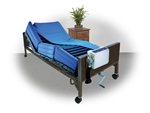"Drive Medical Future Air 8"" True Low Air Loss Mattress System with 10"" Defined Perimeter"