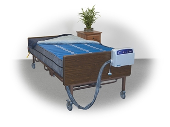 "Drive Medical Med Aire Plus 10"" Bariatric Alternating Pressure Mattress Replacement System 60"""