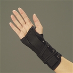 DeRoyal Lace Up Suede Leatherette Wrist Splint