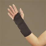 DeRoyal Black Wrist Splint