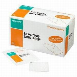 Smith & Nephew No Sting Skin Prep Protective Wipes