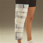DeRoyal Cutaway Knee Immobilizer with Patella Strap