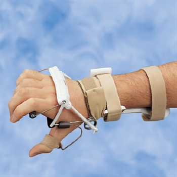 DeRoyal LMB Radial Nerve Splint Wrist Extension with MP Extension Assist and Adjustable Thumb Extension Assist