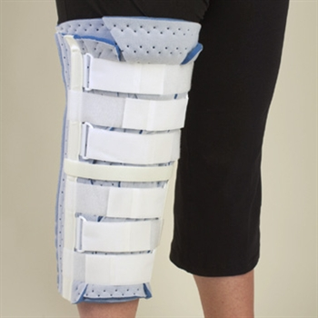 DeRoyal Bariatric Foam Tri Panel Knee Immobilizer