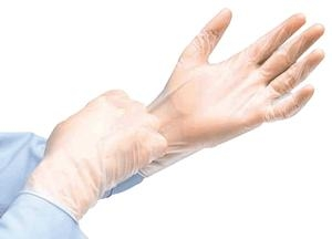 Cardinal Health InstaGard Vinyl Exam Gloves