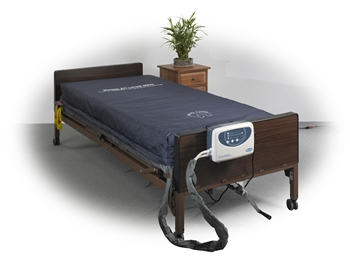 "Drive Medical Masonair AS8800 8"" Alternating Pressure and Low Air Loss Mattress System AS8800-84"