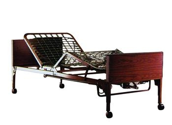 Invacare Supply Group Full Electric Home Care Bed Package