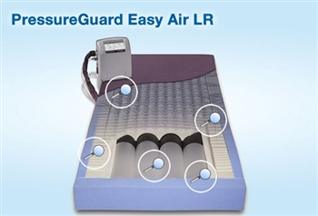 Span America PressureGuard Easy Air LR Low air loss Therapy with Alternating Pressure or Lateral Rotation Mattress