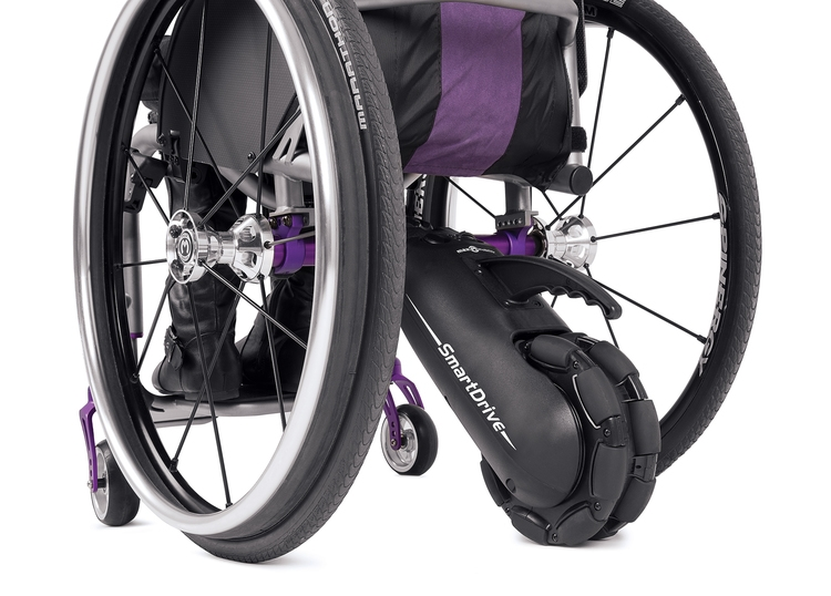 Smartdrive power assist for manual wheelchairs – most wished for.