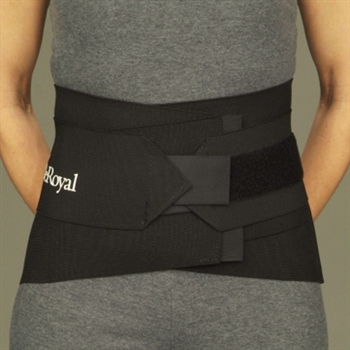 DeRoyal Elastic Neoprene Back Support